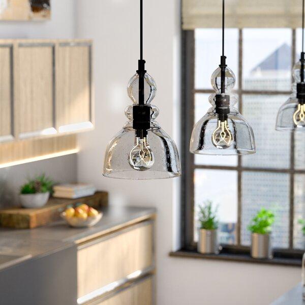 Wyckhoff 1-Light Bell Pendant by Trent Austin Design