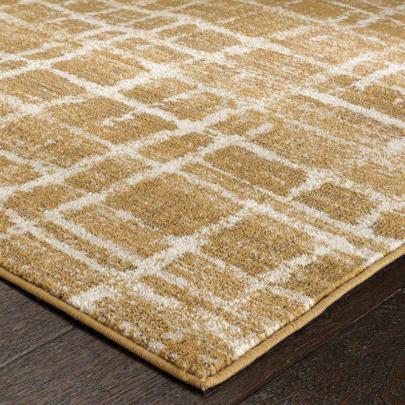 metro lane teppich roslyn in gold bewertungen. Black Bedroom Furniture Sets. Home Design Ideas
