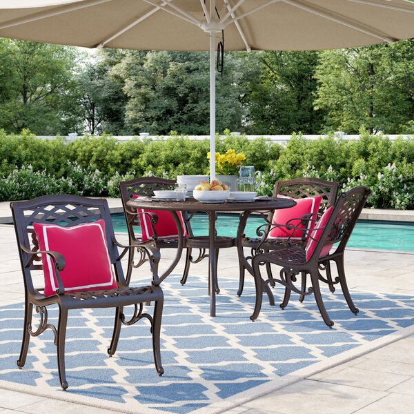 Blythe 5 Piece Dining Set By Sol 72 Outdoor