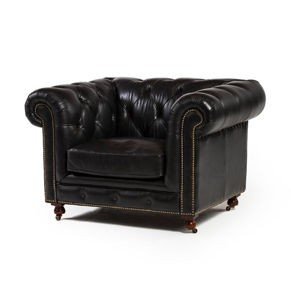 Olhouser Chesterfield Chair by Canora Grey