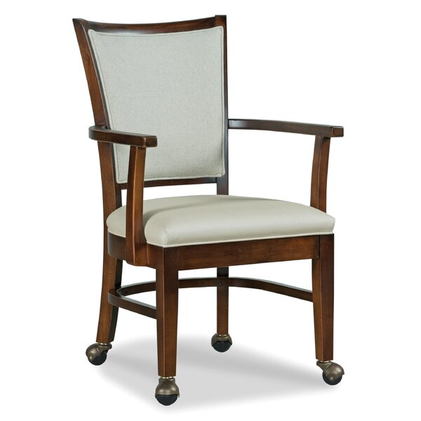 Burns Upholstered Dining Chair by Fairfield Chair