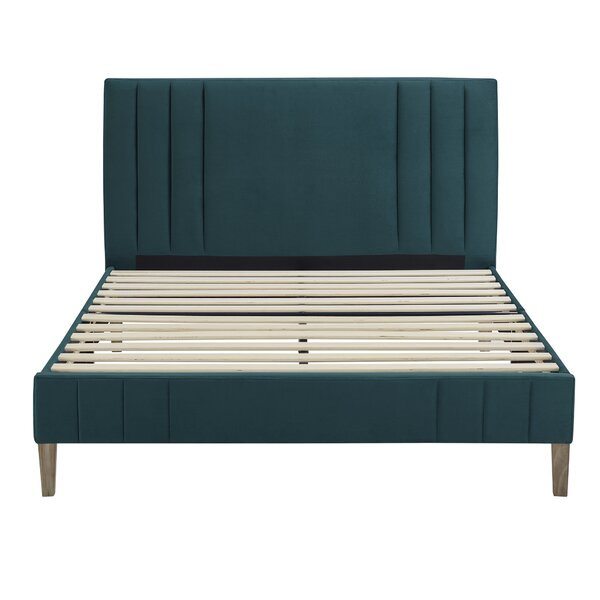 Moniz Upholstered Platform Bed By Wrought Studio