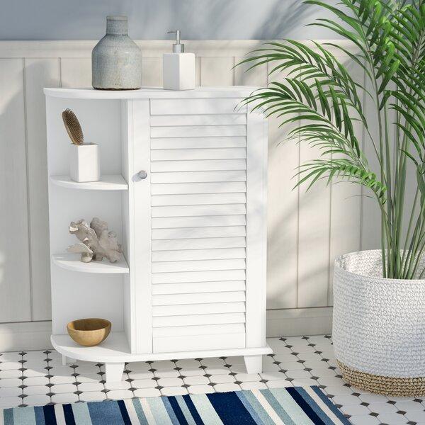 Ellsworth 23.63 W x 31.1 H x 9.65 D Free-Standing Bathroom Cabinet