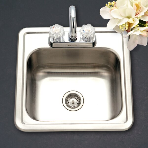 Hospitality 15 L x 15 W Bar Sink by Houzer