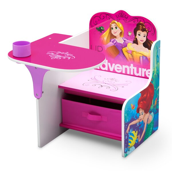 Disney Princess Kids Novelty Chair with Storage Compartment by Delta Children