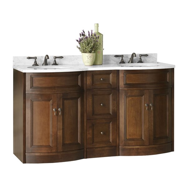 Marcello 61 Double Bathroom Vanity Set by Ronbow