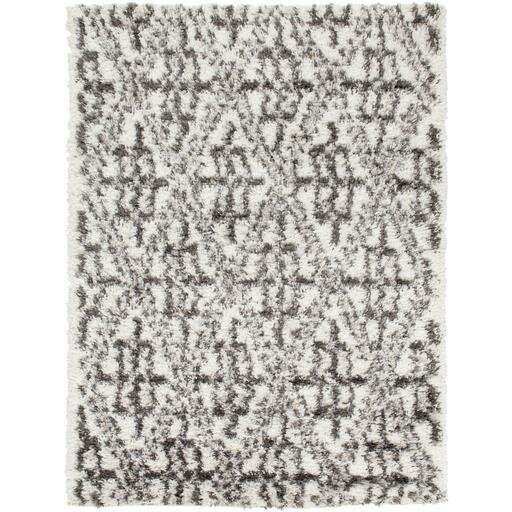 Hauser Charcoal/Ivory Area Rug by Bungalow Rose