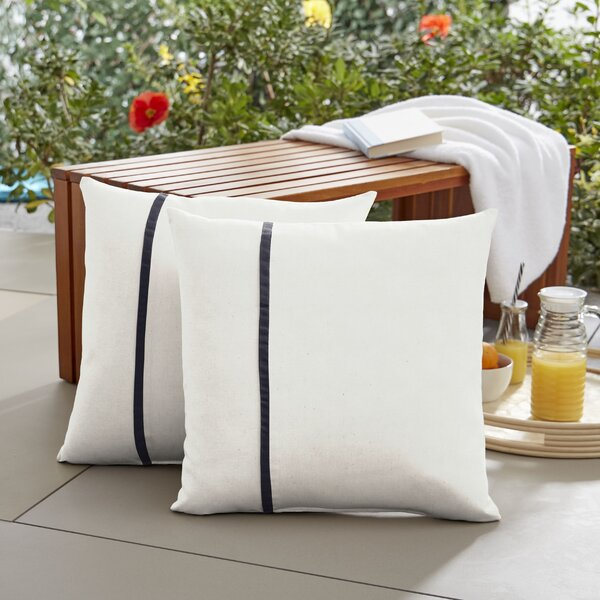 Fossen  Indoor/Outdoor Throw Pillow (Set of 2)