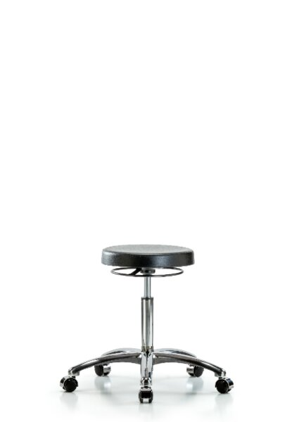 Xanthe Medium Bench Height Adjustable Lab Stool by Symple Stuff