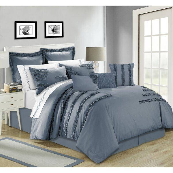 Maddison 7 Piece Comforter Set by Ophelia & Co.