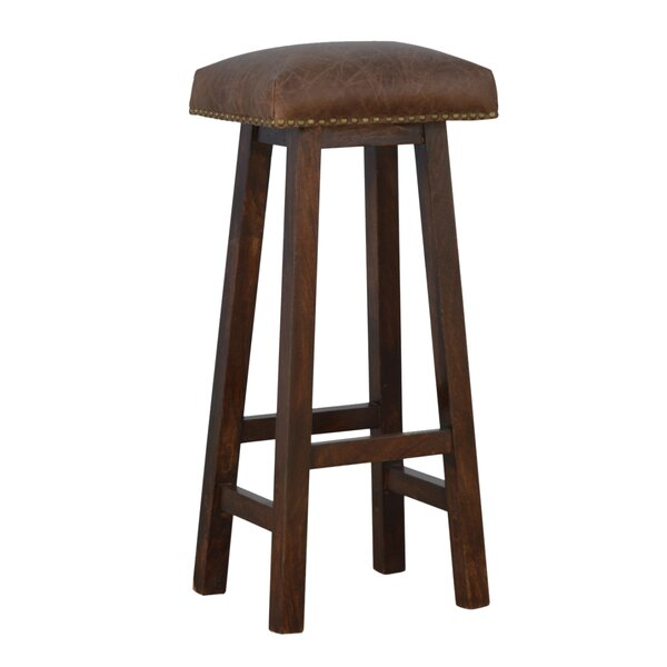 Roselyne Upholstered 30.3 Bar Stool by 17 Stories