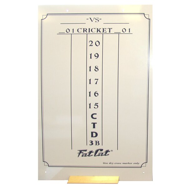 Dry Erase Dart Scoreboard by GLD Products
