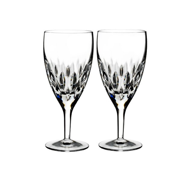 Enis Iced Beverage 14 oz. Crystal Every Day Glasses (Set of 2) by Waterford