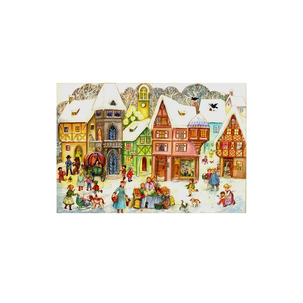 Sellmer Large Old Town Advent Calendar by The Holiday Aisle