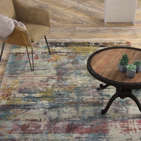 Myranda Blue/Green Area Rug by Williston Forge