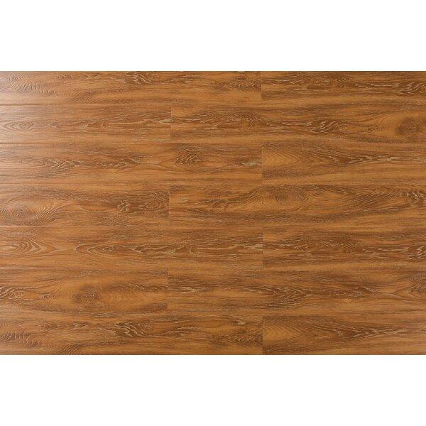 Archard 7 x 48 x 12mm Oak Laminate Flooring in Mocha by Serradon