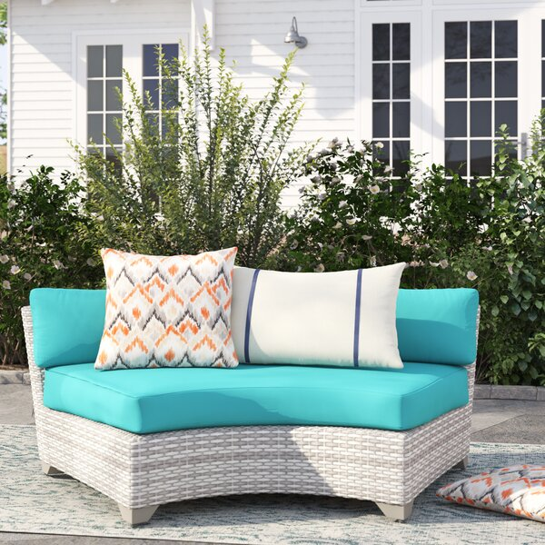 Falmouth Patio Sofa with Cushions by Sol 72 Outdoor Sol 72 Outdoor