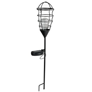 Check Prices Geometric Solar Powered 1 Light LED Pathway Light By Northlight Seasonal