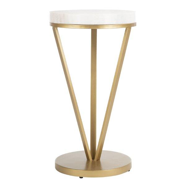 Mirasol Pedestal End Table By Mercer41