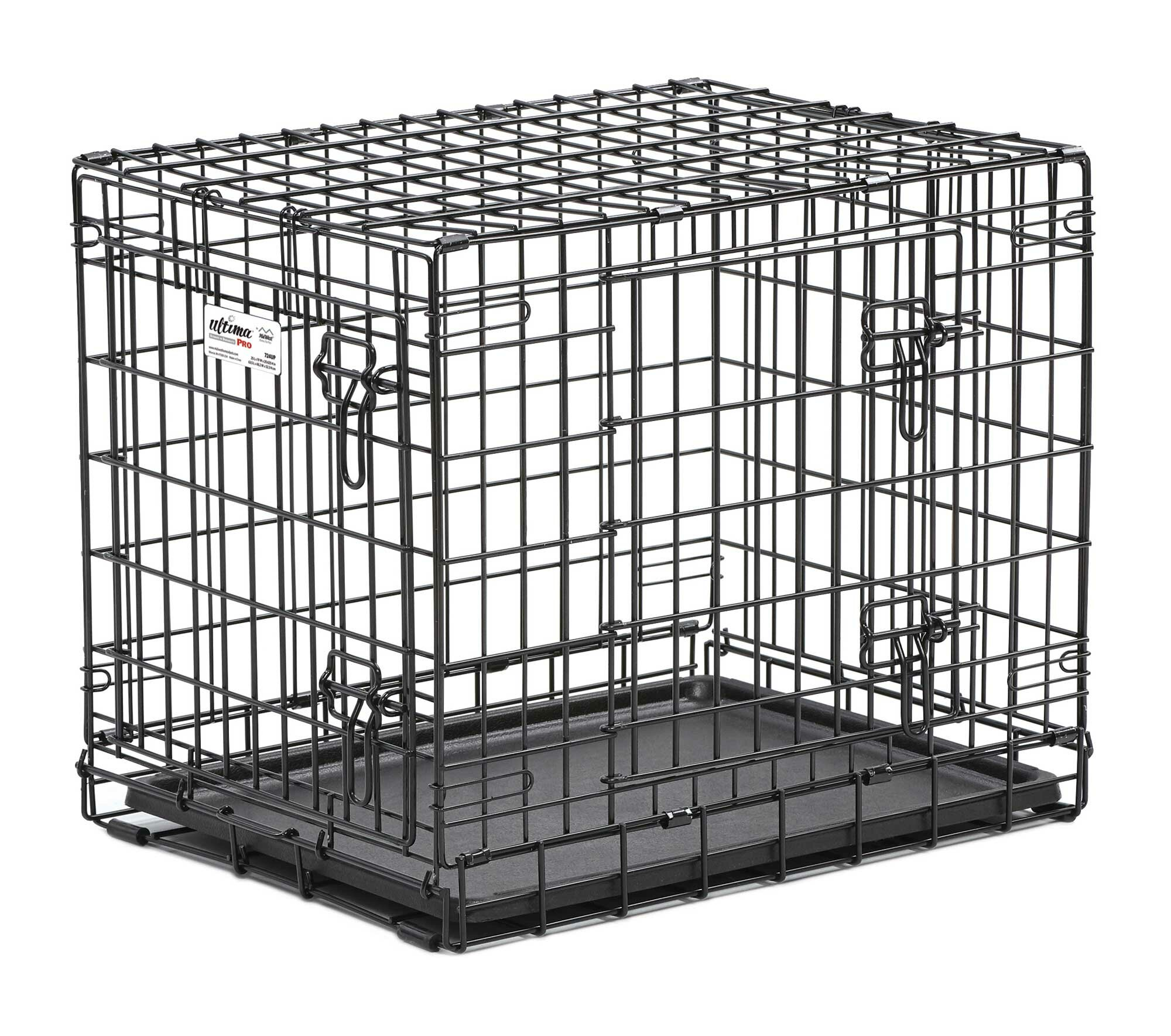 Midwest Homes For Pets Ultima Pro Fold And Carry Double Door Pet Crate U0026  Reviews | Wayfair