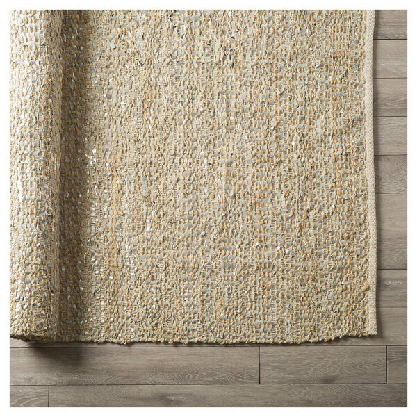 Dannette Hand-Woven Cream Area Rug by August Grove