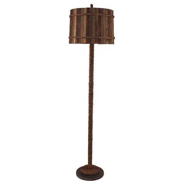 Hulbert Rope 64 Floor Lamp by Highland Dunes
