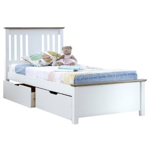 Andres Kids European Single Bed Frame
