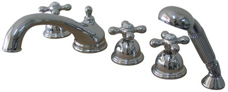 Roman Tub Faucet and Diverter Hand Shower by Elements of Design