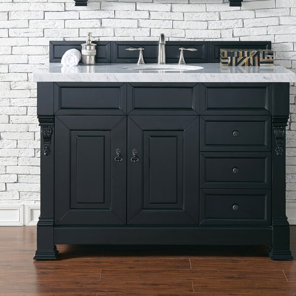 @ Bedrock 48 Single Bathroom Vanity Set by Darby Home Co| #$0.00!