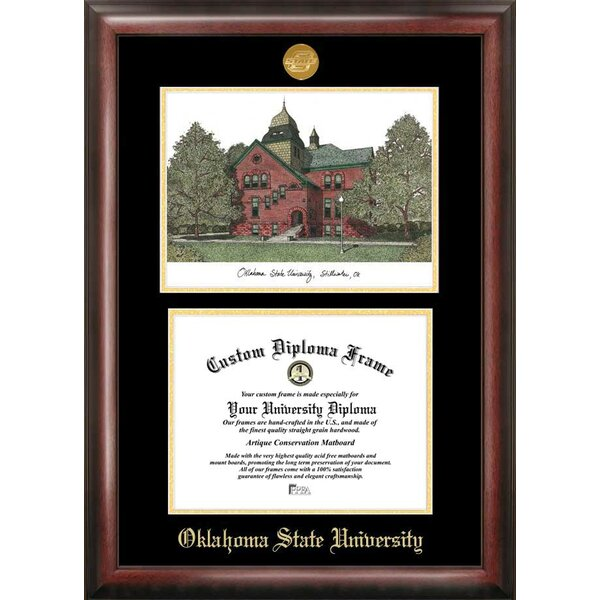 NCAA Oklahoma State Cowboys Spirit Graduate Picture Frame by Campus Images