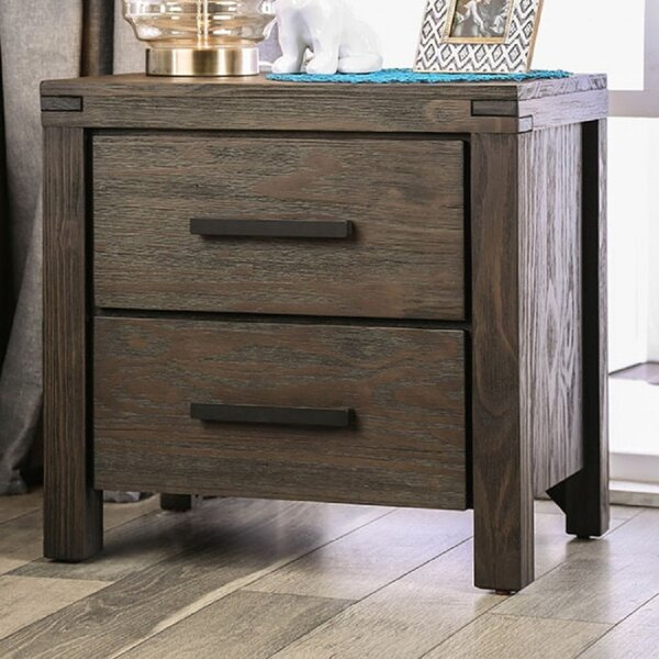Gracelyn 2 Drawer Nightstand by Foundry Select