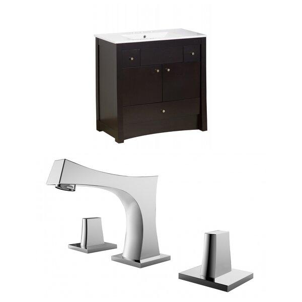 Sharples 36 Single Bathroom Vanity Set