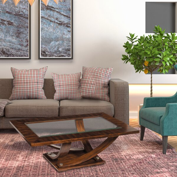 Reviews Kapono Coffee Table by Foundry Select