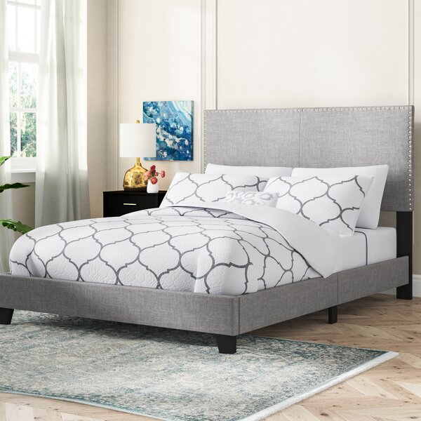 Best #1 Templeton Upholstered Standard Bed By Mercer41 Spacial Price