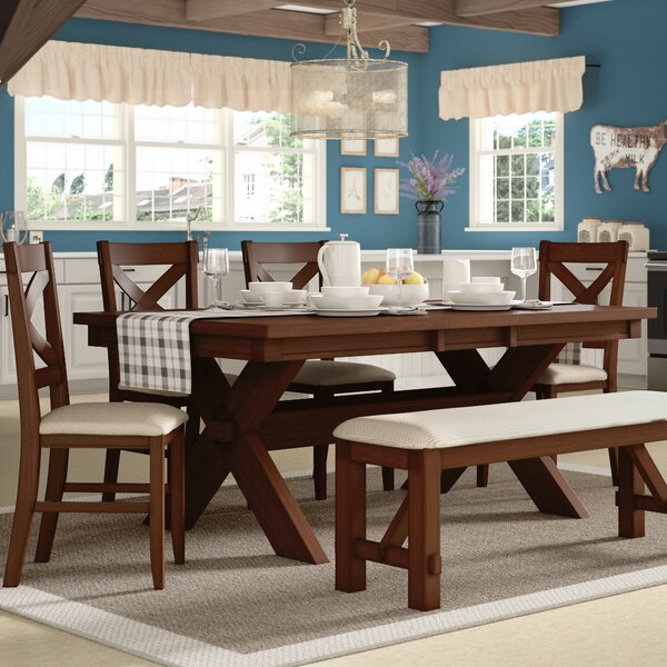 Isabell 6 Piece Dining Set by Laurel Foundry Modern Farmhouse Laurel Foundry Modern Farmhouse
