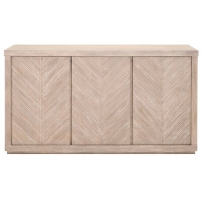 Gracie Oaks Media Sideboard Sideboard Buffets