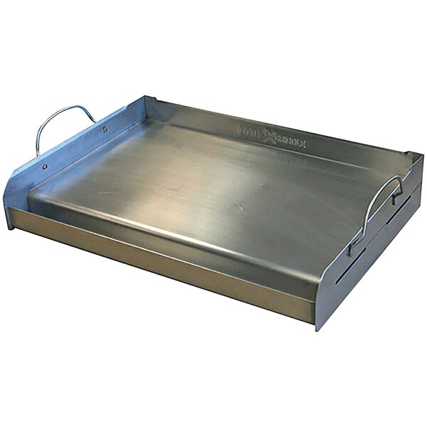 Professional Series Half Size Stainless Steel BBQ Griddle by Little Griddle Innovations