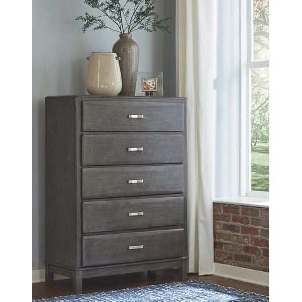 Kennon 5 Drawer Chest by Gracie Oaks