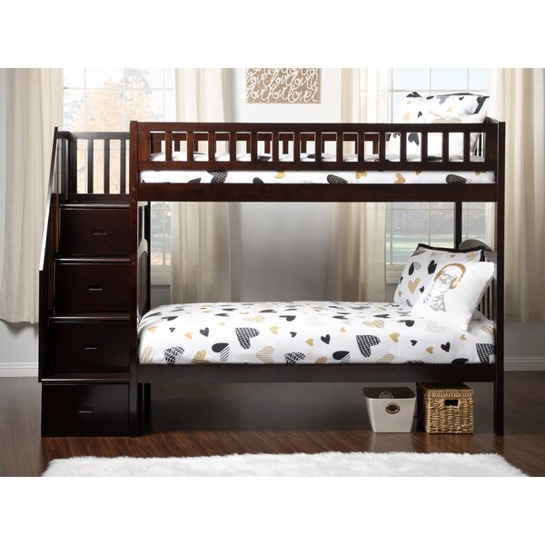 Salem Twin over Twin Bunk Bed by Harriet Bee