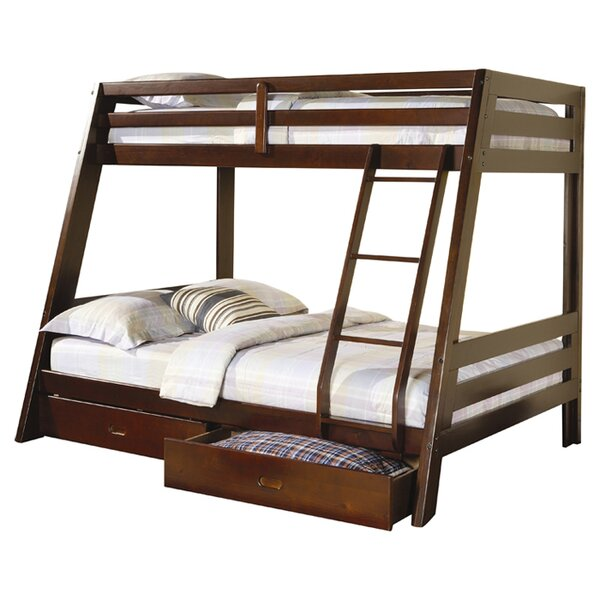 Mullin Twin over Full Bunk Bed with Storage by Wildon Home ®