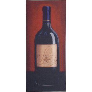 Bordeaux Print on Wrapped Canvas by Trademark Global