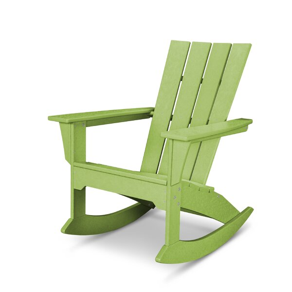 Quattro Plastic/Resin Adirondack Chair by POLYWOOD POLYWOOD®