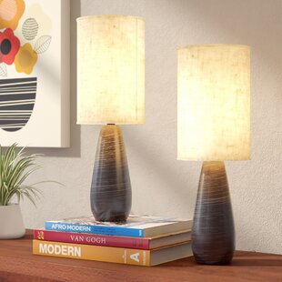 Table lamps youll love wayfair alcinous 175 table lamp set of 2 mozeypictures Images