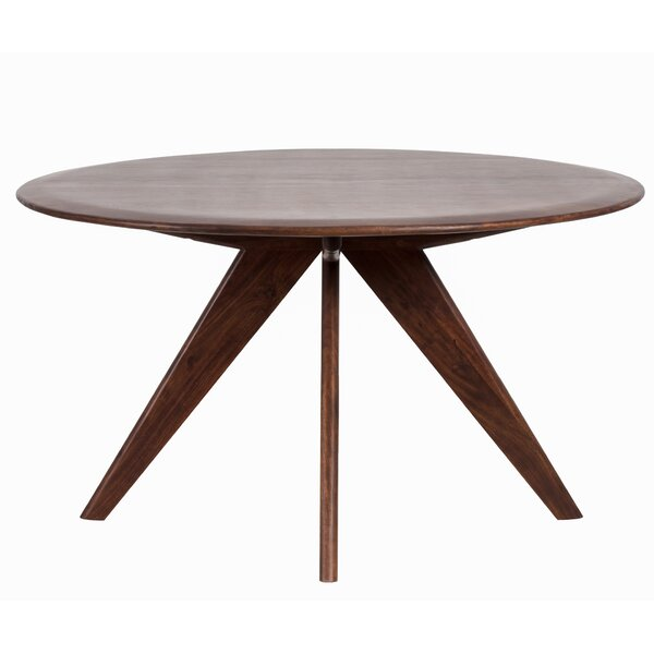 Holtzclaw Acacia Solid Wood Dining Table by George Oliver George Oliver