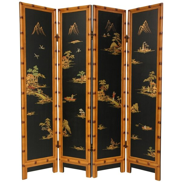 Patricia 4 Panel Room Divider by World Menagerie