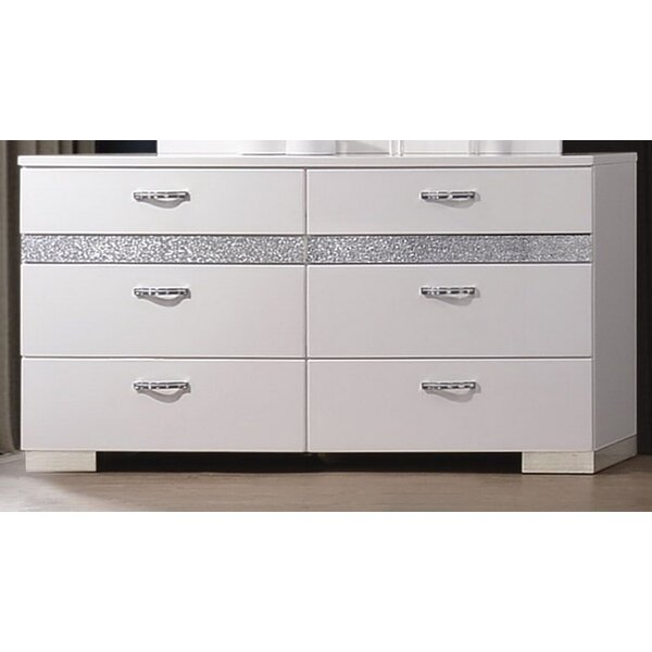 Dewitt 8 Double Dresser by Orren Ellis