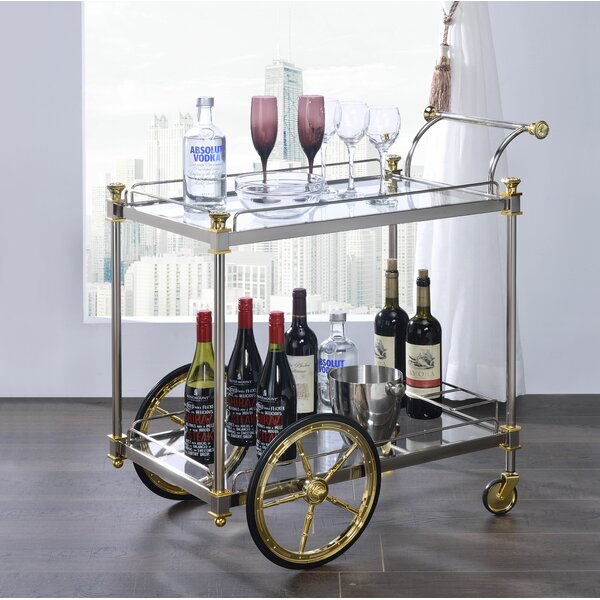 Torpoint Bar Cart by Everly Quinn Everly Quinn