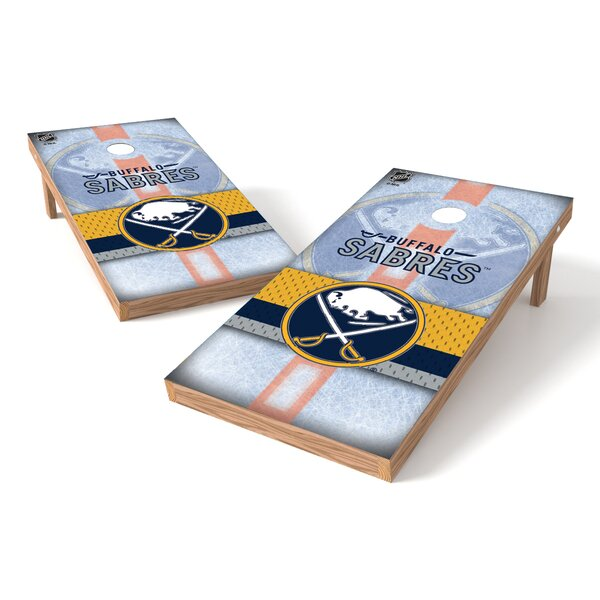 NHL Game Cornhole Set by Tailgate Toss