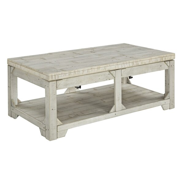 Kasse Lift Top Extendable Coffee Table With Storage By Gracie Oaks