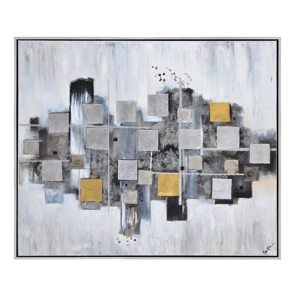 Ordered Chaos by Patrick Framed Painting Print Plaque by Ren-Wil